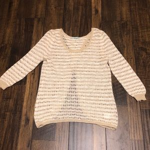 Maurice's open-back sweater